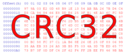 Erriez CRC32 library for Arduino: Optimized CRC32 library