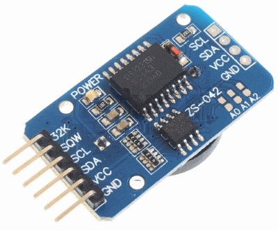 Erriez DS3231 high precision I2C RTC library for Arduino